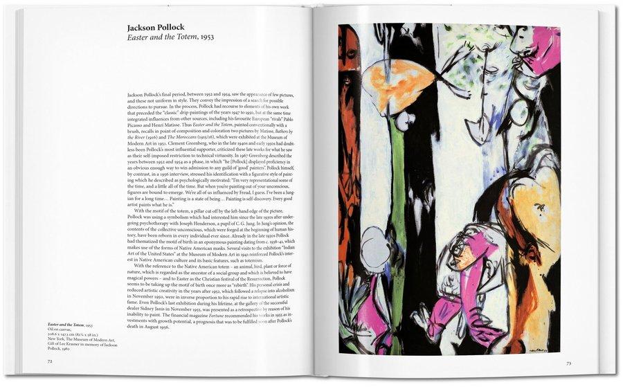 抽象主义绘画作品-艺术中的抽象表现主义